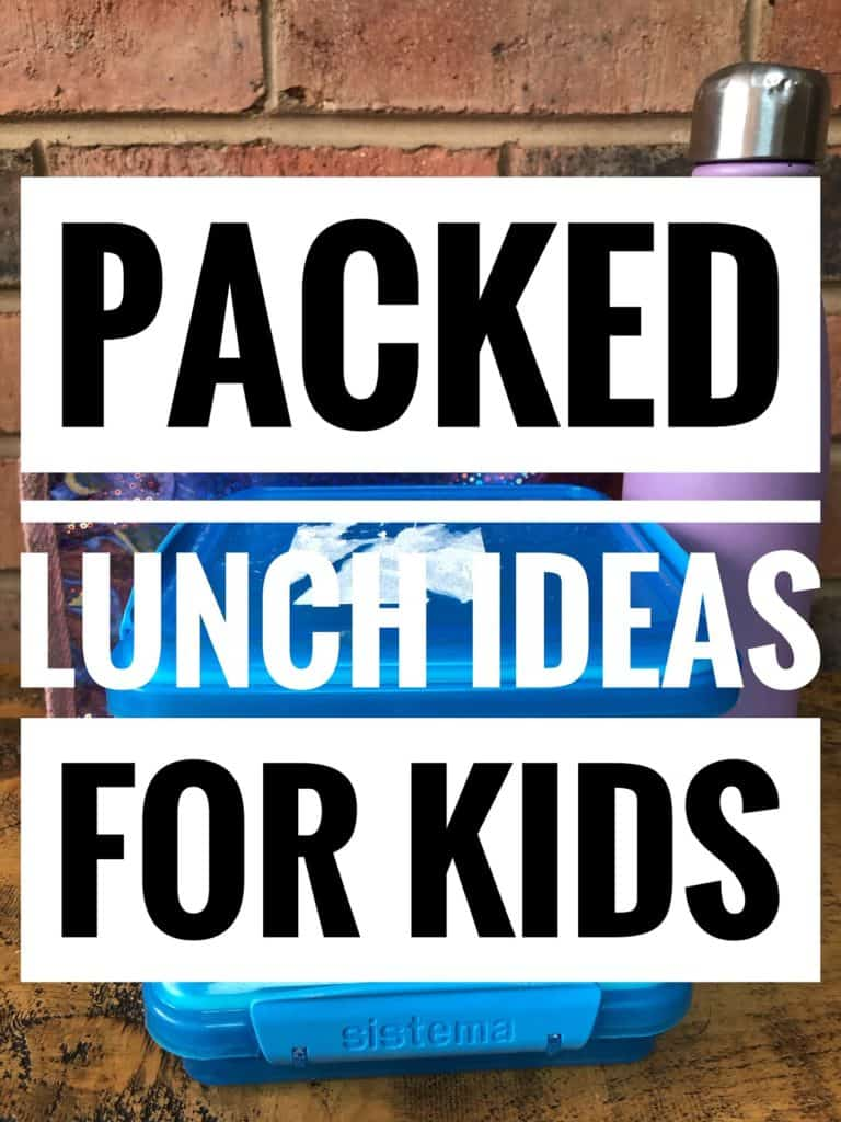 packed lunch ideas for kids
