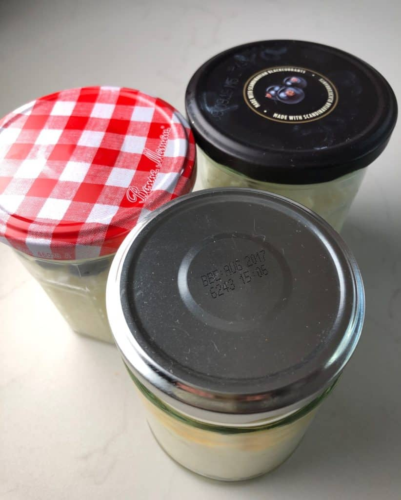 Rice Pudding Pots for packed lunches