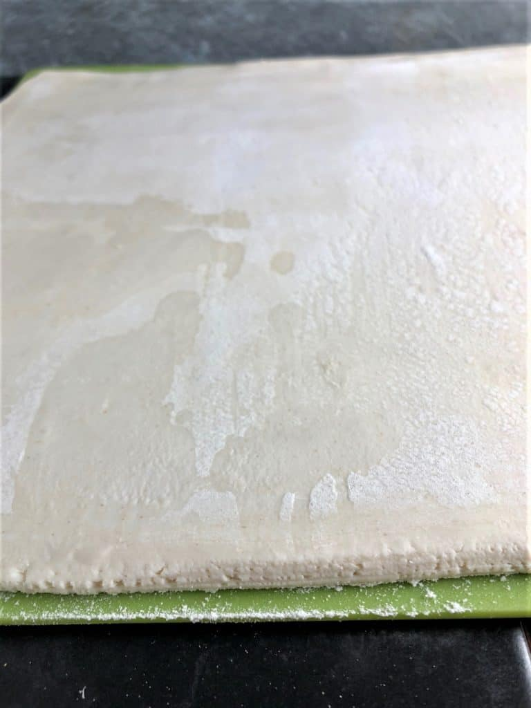 puff pastry rolled to 2 -3 mm thick