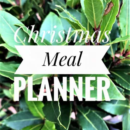 Christmas Meal Planner