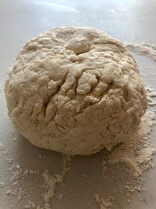 pizza dough no yeast dough ball