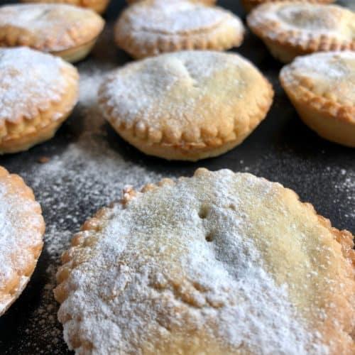 super quick mince pies