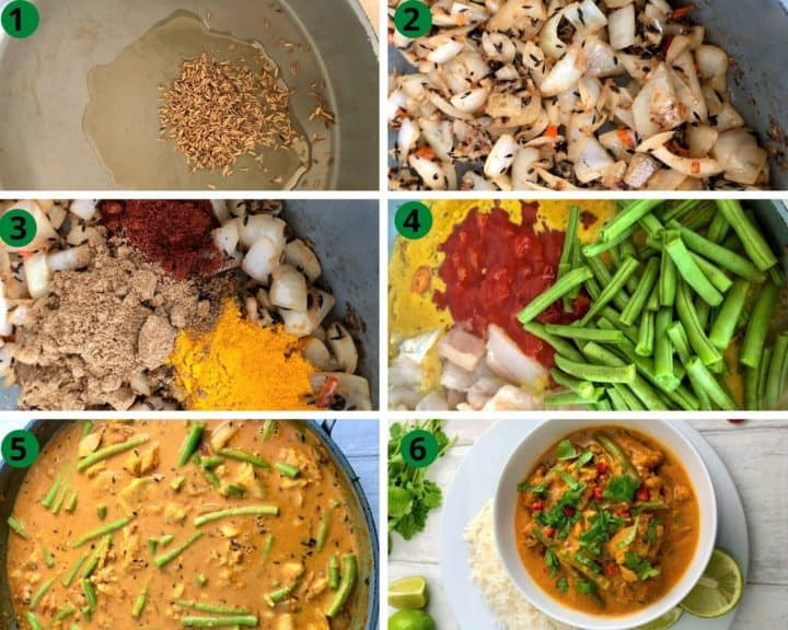 how to make keralan fish curry step by step images